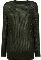 Diesel 'Sibi' pullover - women - Nylon/Rayon/Cashmere - XS