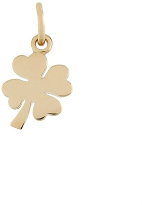 Dodo 18kt yellow gold One In a Million four-leaf clover pendant