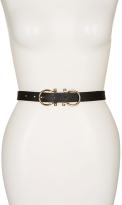 Linea Pelle Double Buckle Belt