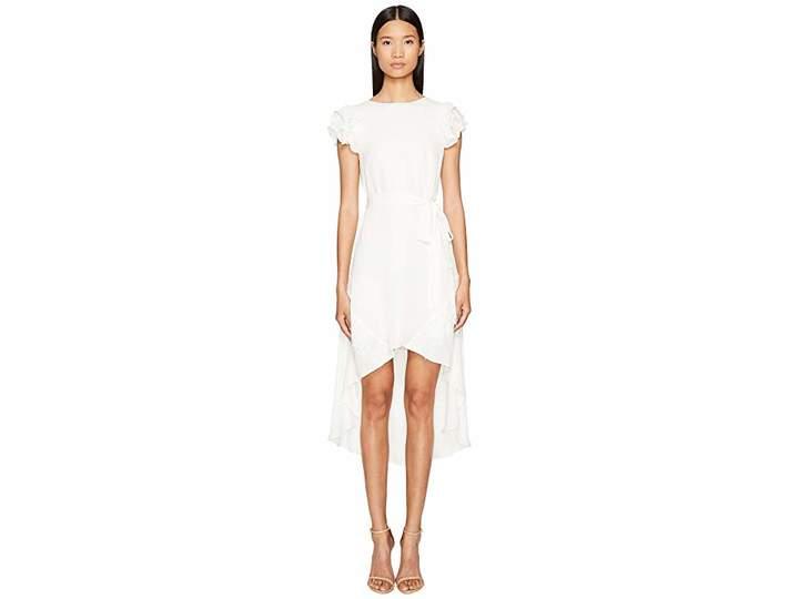 Thomas Wylde Tori - High-Low Short Sleeve Dress Women's Dress