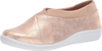Copper Fit Women's Restore Slip ON Ballet Flat
