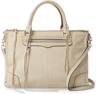 Rebecca Minkoff Regan Leather Satchel Tote Bag