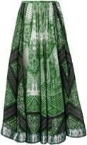 Etro signature printed skirt