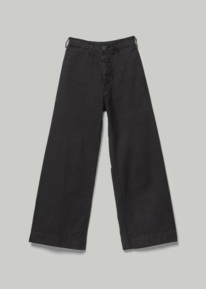 Jesse Kamm Women's Sailor Pant in Black Size 2