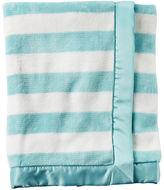 Carter's Striped Plush Blanket