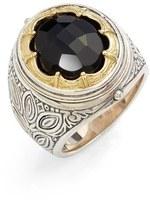 Konstantino 'Orpheus' Petal Set Semiprecious Stone Ring