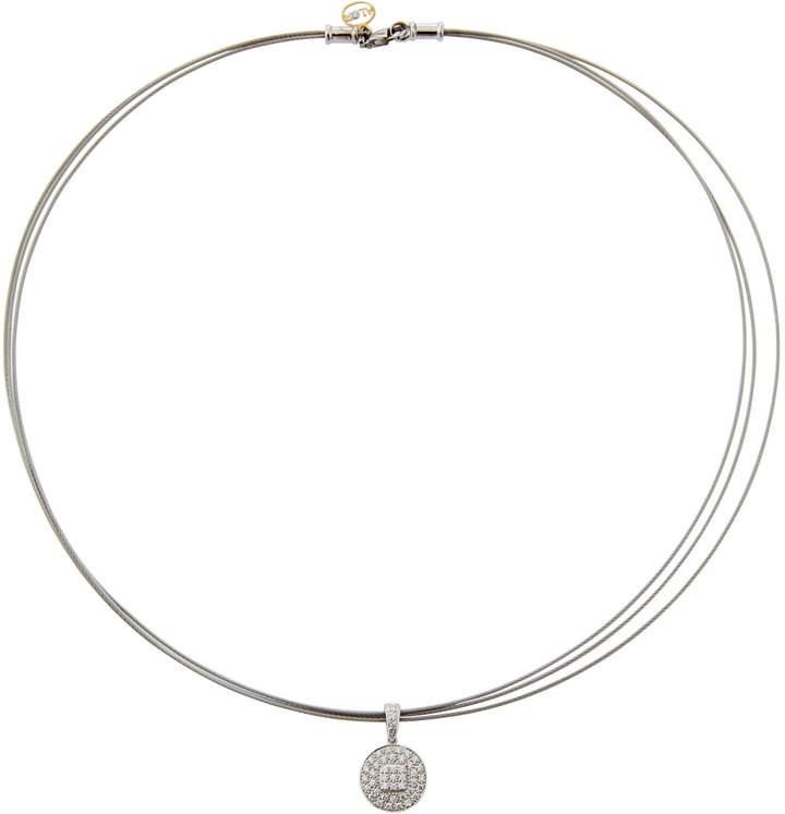 Alor 18k Diamond Pendant Necklace