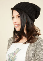 ModCloth Beignet or Nay Hat in Black