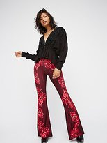Novella Royale Printed Janis Flares by at Free People