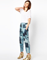 Emma Cook Print Pants