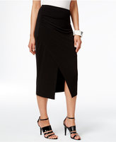 Alfani Faux-Wrap Pencil Skirt, Only at Macy's
