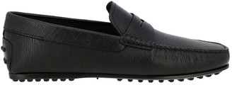 Tod's Tods Loafers City Tods Gommini Loafers In Genuine Leather With Crossbar