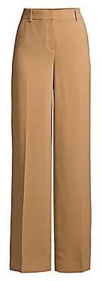 Donna Karan Women's Double Crepe Wide-Leg Pants