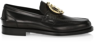 Burberry TB Leather Loafers