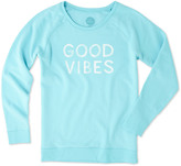Life is Good Go-To Long Crew Top