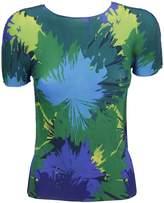 Issey Miyake Knitted Printed T-shirt