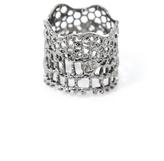 Aurelie Bidermann Silver-plated vintage lace ring