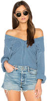 Sam&lavi Isabelle Shirt in Blue. - size XS (also in )