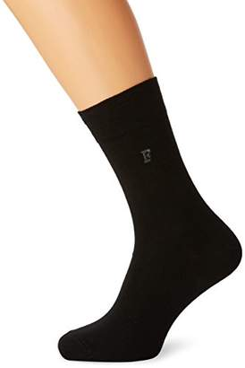 French Connection Men's 3 Pack Waterfall Socks, Black 1, One (Size: O/S) (Pack of 3)