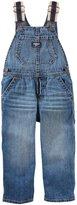 Osh Kosh Toddler Boy Striped Straps Denim Overalls