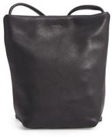Baggu Leather Crossbody Bag - Black