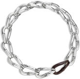 John Hardy Link Necklace with Rosewood