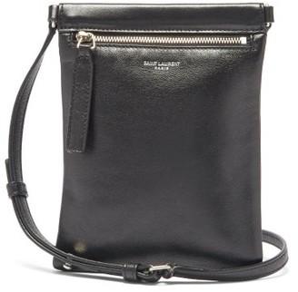 Saint Laurent Sid Leather Cross-body Bag - Black