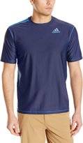 adidas Men's UPF 30+ Short Sleeve Swim Tee