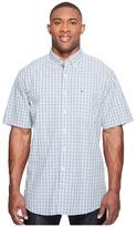 Nautica Big & Tall Short Sleeve Multi Plaid Shirt