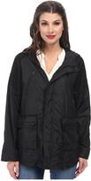 Sam Edelman Mesh Trimmed Active Rain Jacket