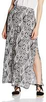Blend of America Women's Bodycon Skirt - White -