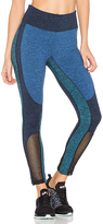 Free People Color Blocked Dylan Legging in Blue. - size M (also in )