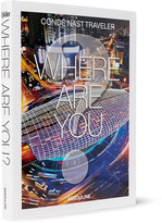 Assouline Condé Nast Traveller: Where Are You? Hardcover Book - Black