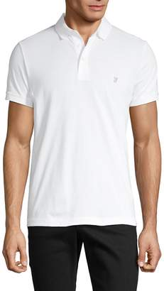 French Connection Short-Sleeve Cotton Polo