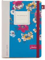 Joules A5 Notebook - Multi Poppy Posy