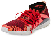 adidas by Stella McCartney Edge Knit Trainer Sneaker, Pink Passion/Turbo/Red