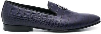 Roberto Cavalli RC monogram loafers