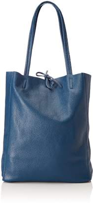 CHICCA Borse Women's CBS178484-678 Shoulder Bag Blue Blue (blue blue)