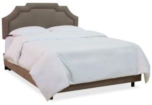 Skyline Grant Upholstered Border Bed - Queen