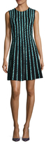 BCBGMAXAZRIA Kaylin Printed Fit And Flare Dress
