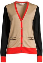 Tory Burch Madeline Colorblock Cardigan
