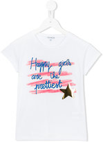 Simonetta Happy Girls T-shirt - kids - Cotton/Modal - 4 yrs