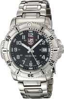 Luminox Women's 7252 Quartz Stainless Steel Black Dial Watch