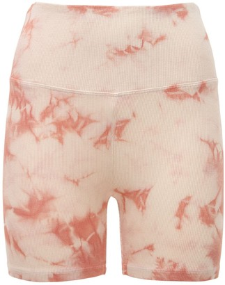 YEAR OF OURS Tie Dye Soft Shorts