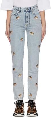 Fiorucci 'Tara' angel print jeans