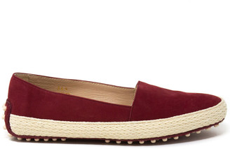 Tod's Tods Gommino Suede Flat