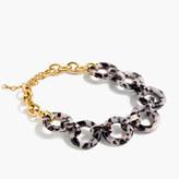 J.Crew Tortoise link necklace