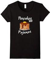 Pancakes and Pajamas T-shirt Funny Food Shirt
