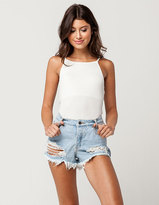RVCA The Boyfriend Womens Denim Shorts
