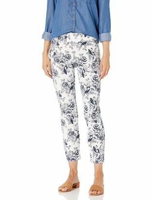 Nine West Women's Crepe Printed Pant
